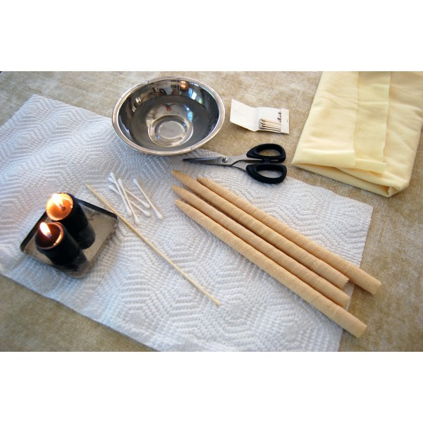 Hopi Ear Candling & Facial Massage (40 Mins)